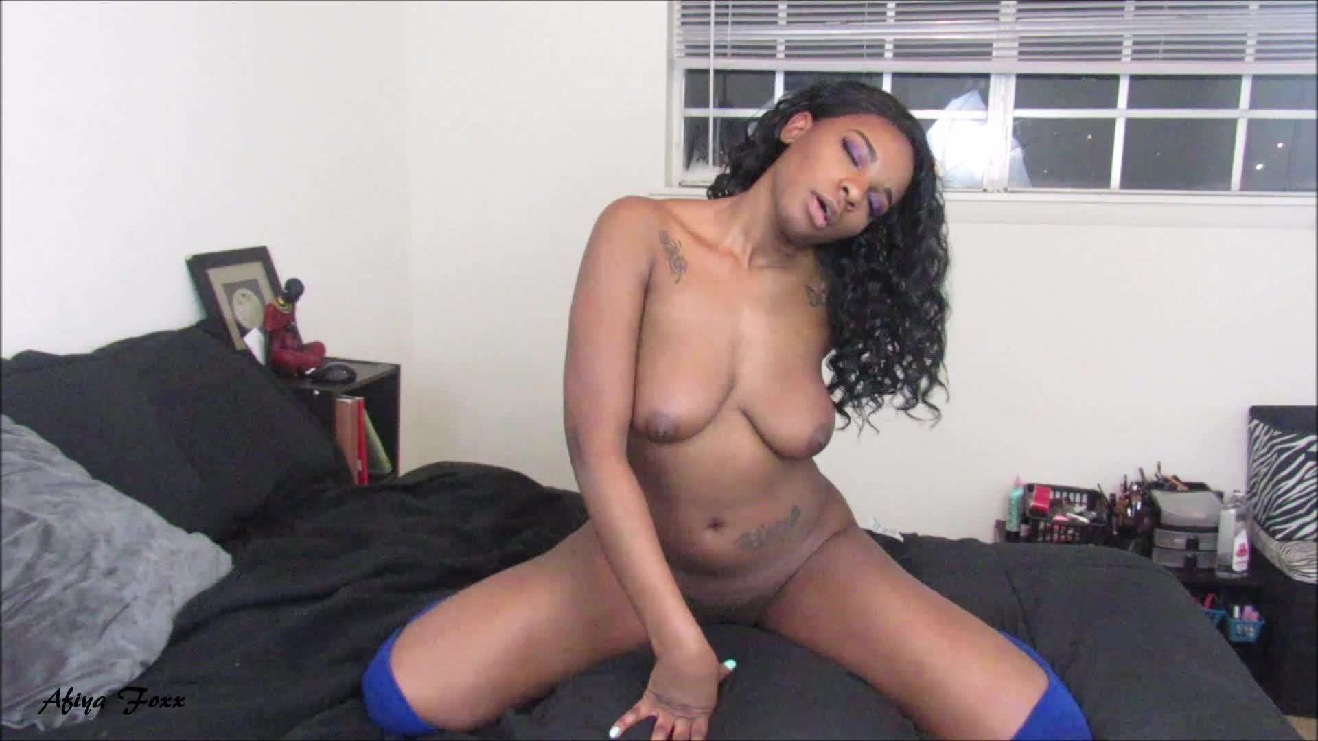 Ebony Bbw Pussy Play Solo