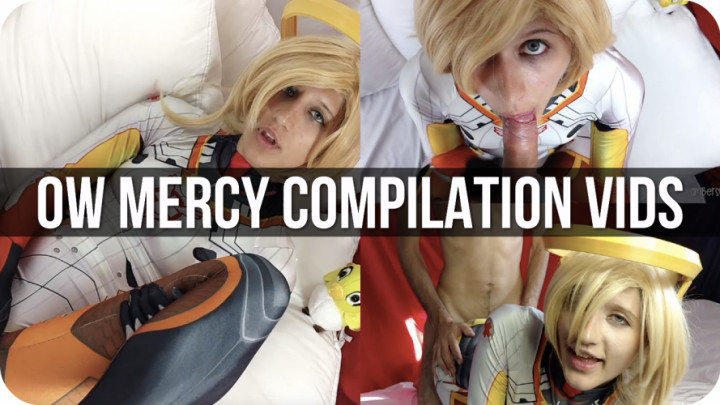"""""""Amber Sonata"""" (Cosplay, Costume, Creampie Compilation, Face Fucking, Fucking) Mercy Compilation: 3 in 1 Videos - ManyVids Production"""