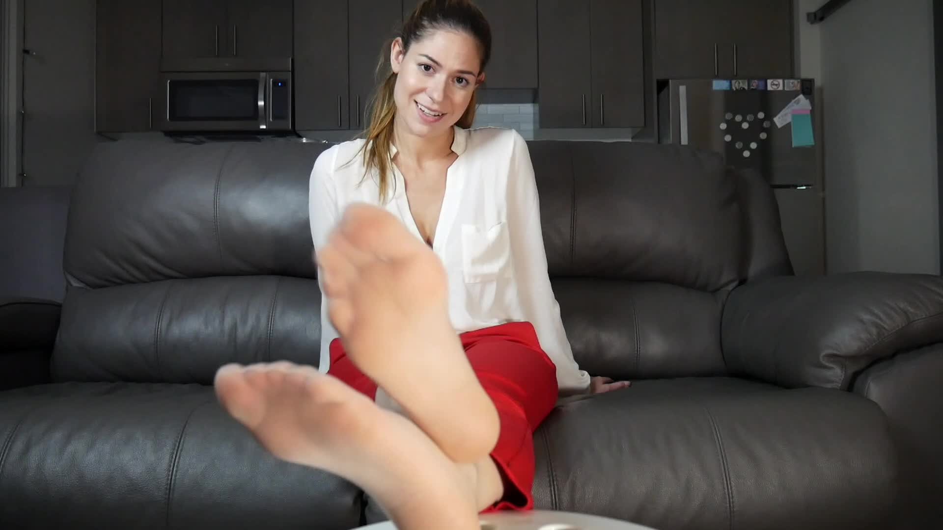 Foot girls training with goddess kendra and pet lilly 9