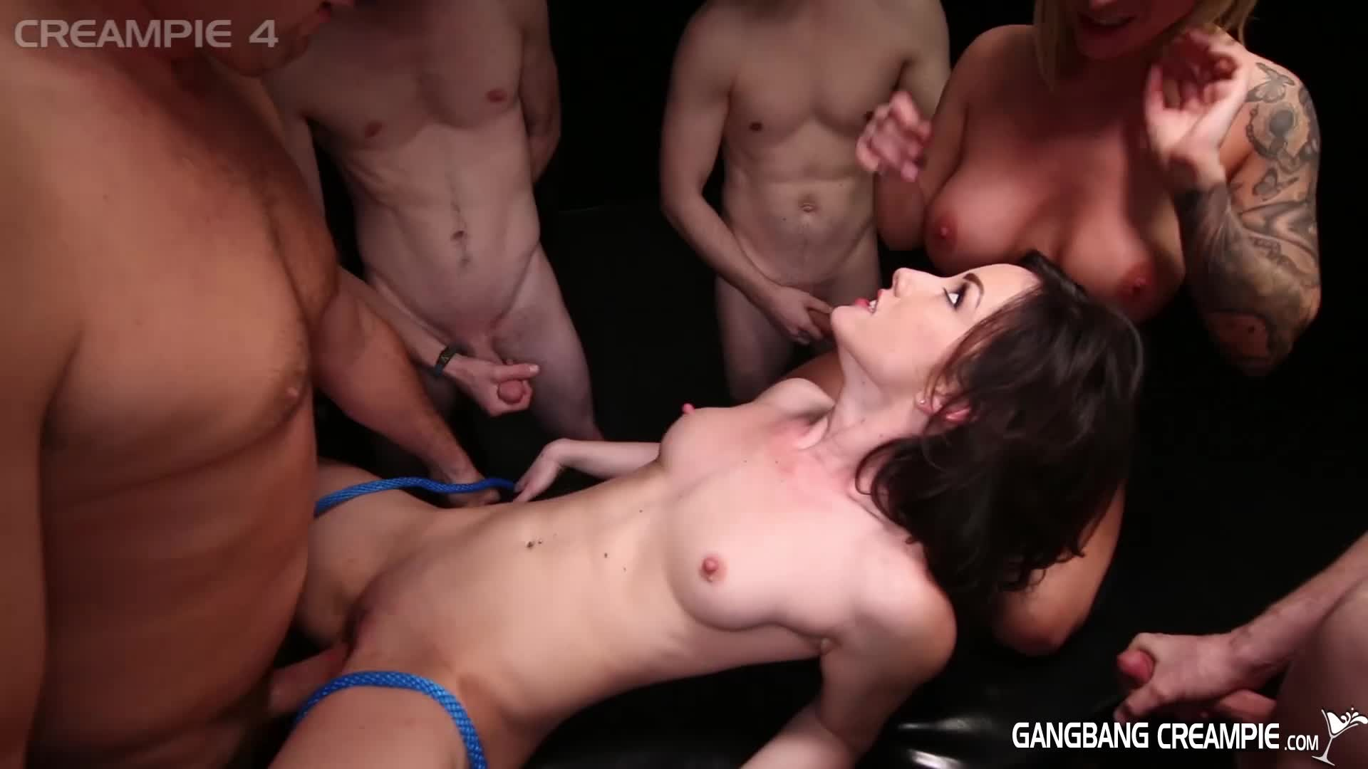 Asian Guy White Girl Creampie