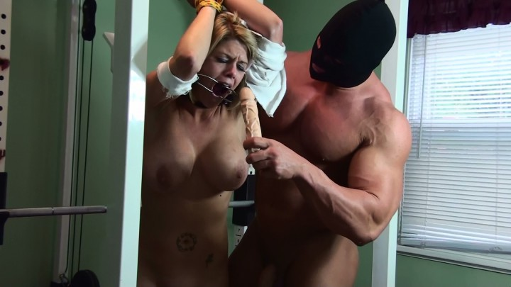 image Agent bound and gagged hardcore anal our
