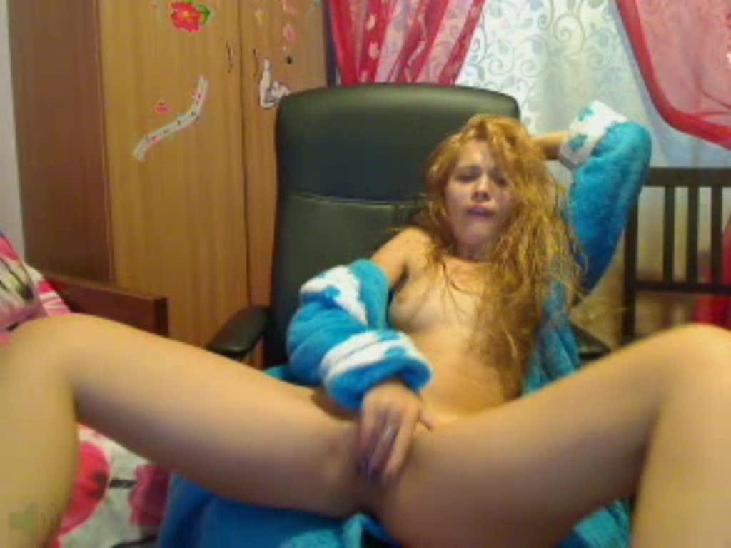 """Blue Angel""  (Fingering, Masturbation, Oil, Teens, Webcam) Blue Angel Yummy Early Morning Fingering ManyVids Production"