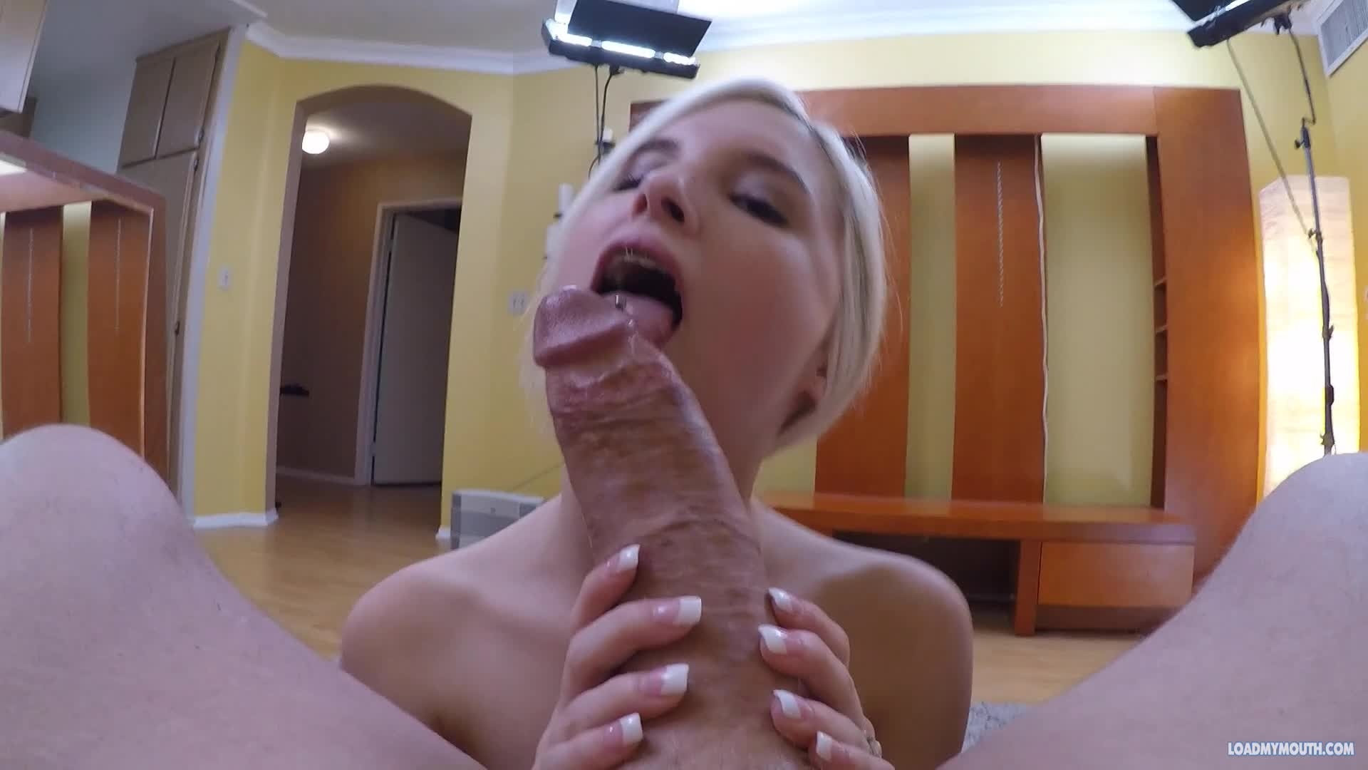 Bunibun fucking bbc for the first time solo 4