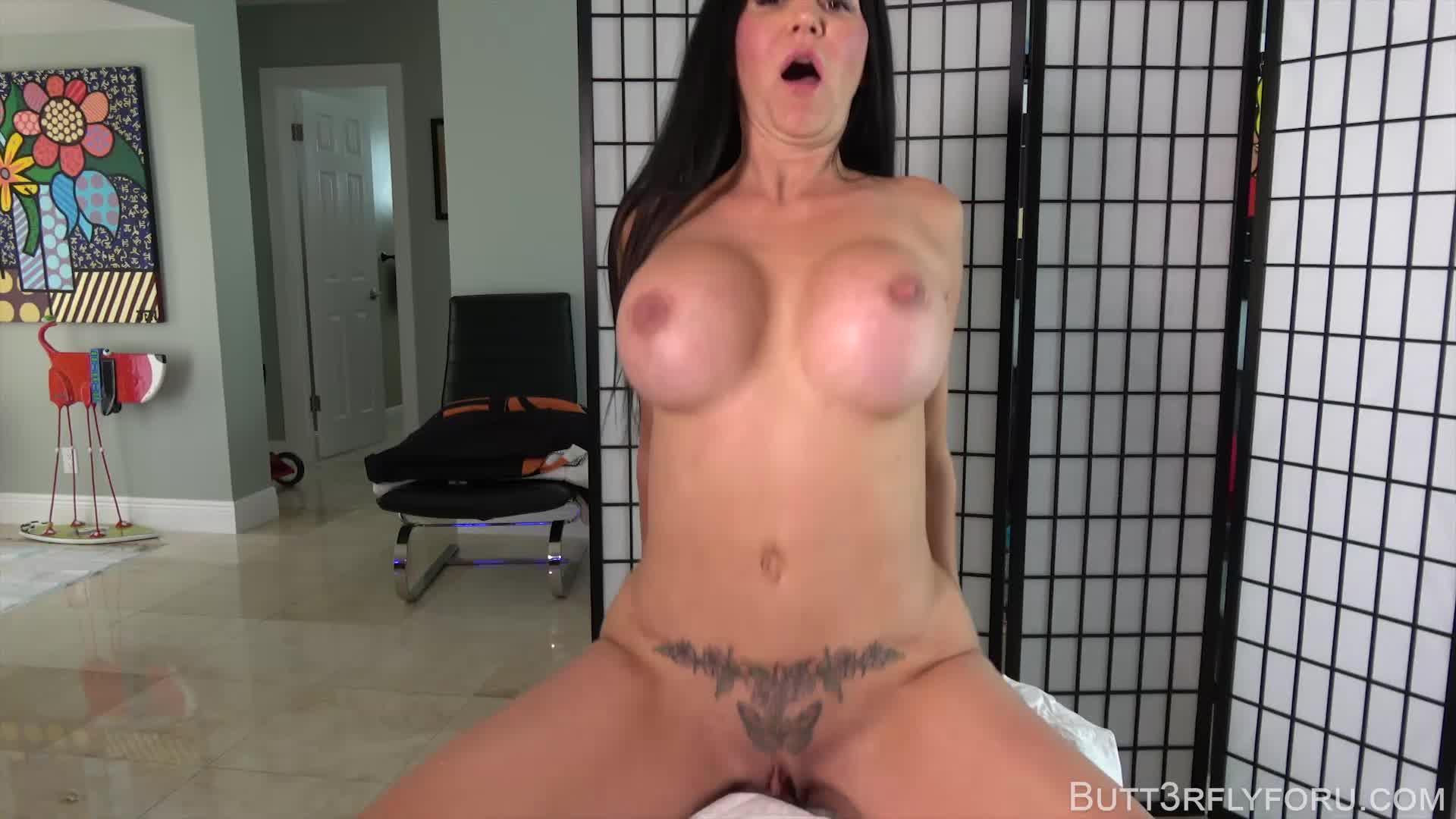 """Butt3rflyforu"" (MILFs, Older Woman / Younger Man ., Virtual Sex, Creampie, Impregnation Fantasy) Happy Ending Massage-MP4-1080p - ManyVids Production"