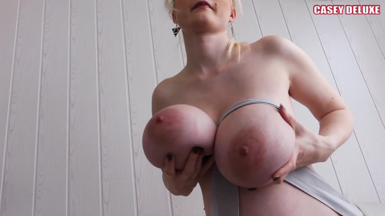 """Casey Deluxe""  (Big Boobs, Bondage, Pregnant, Tape Bondage) Casey Preggo Bondage 1 ManyVids Production"
