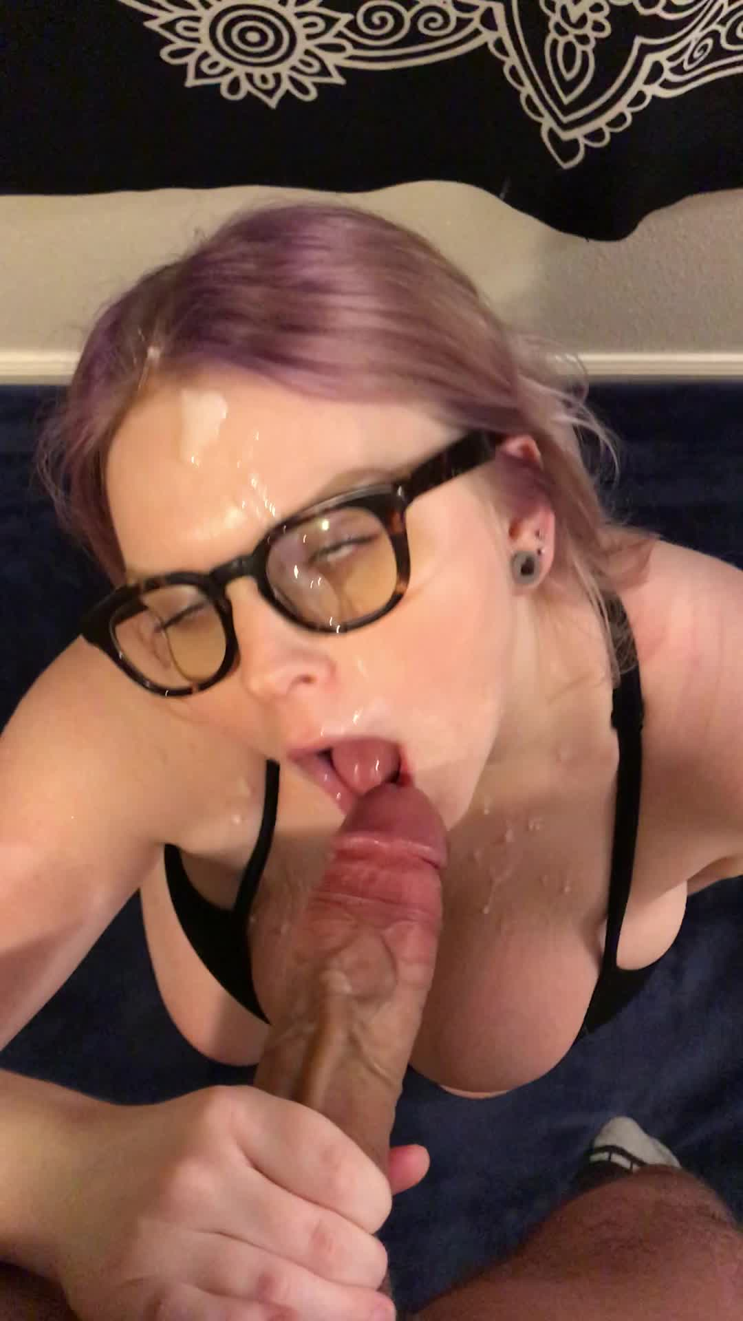 Huge boobs blonde fucking young by troc 6