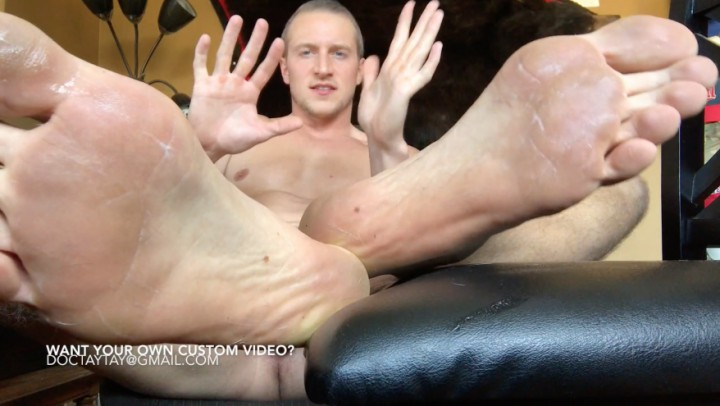 """DocTayTay"" (Barefoot, Foot Fetish, POV Foot Worship, Foot Worship, Dirty Talking) Worship My Cum Covered Feet - ManyVids Production"