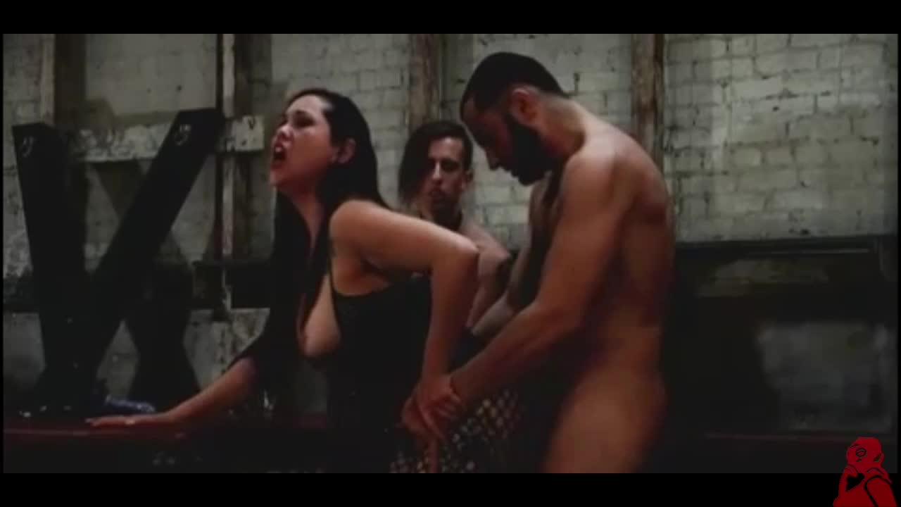 Eden 38Dd Lesbian Top sydney screams - pegging tristan's whore-hole - manyvids