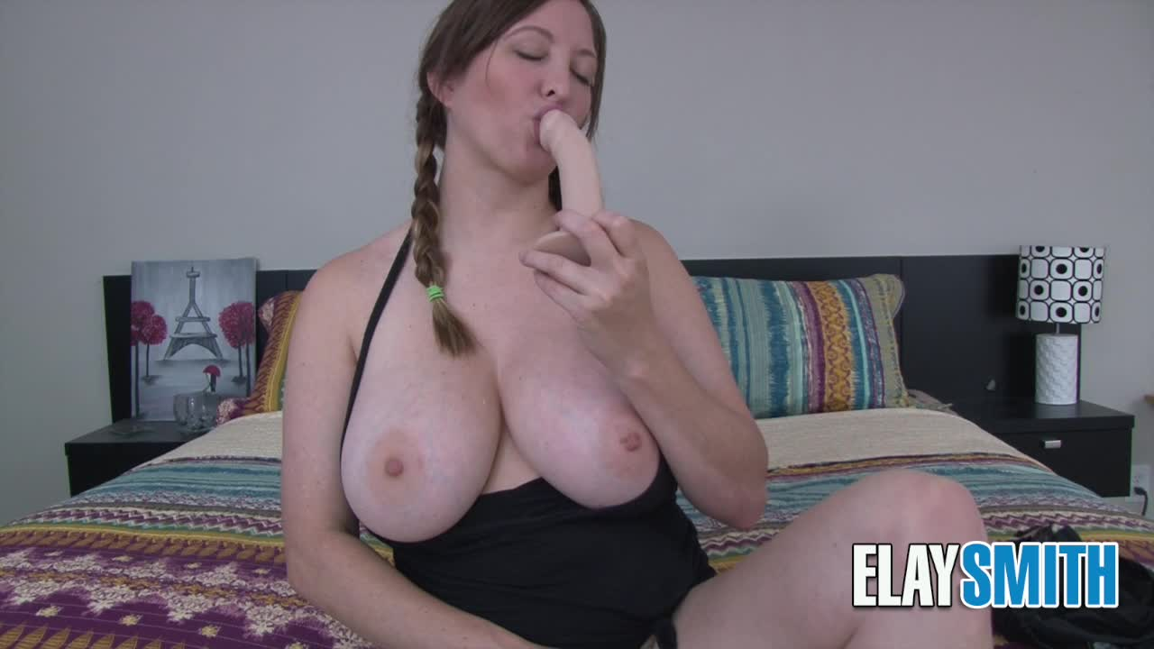 """""""Elay Smith"""" (Accent, Big Boobs, Cum Countdown, JOI, Masturbation Encouragement) Pigtail JOI - ManyVids Production"""