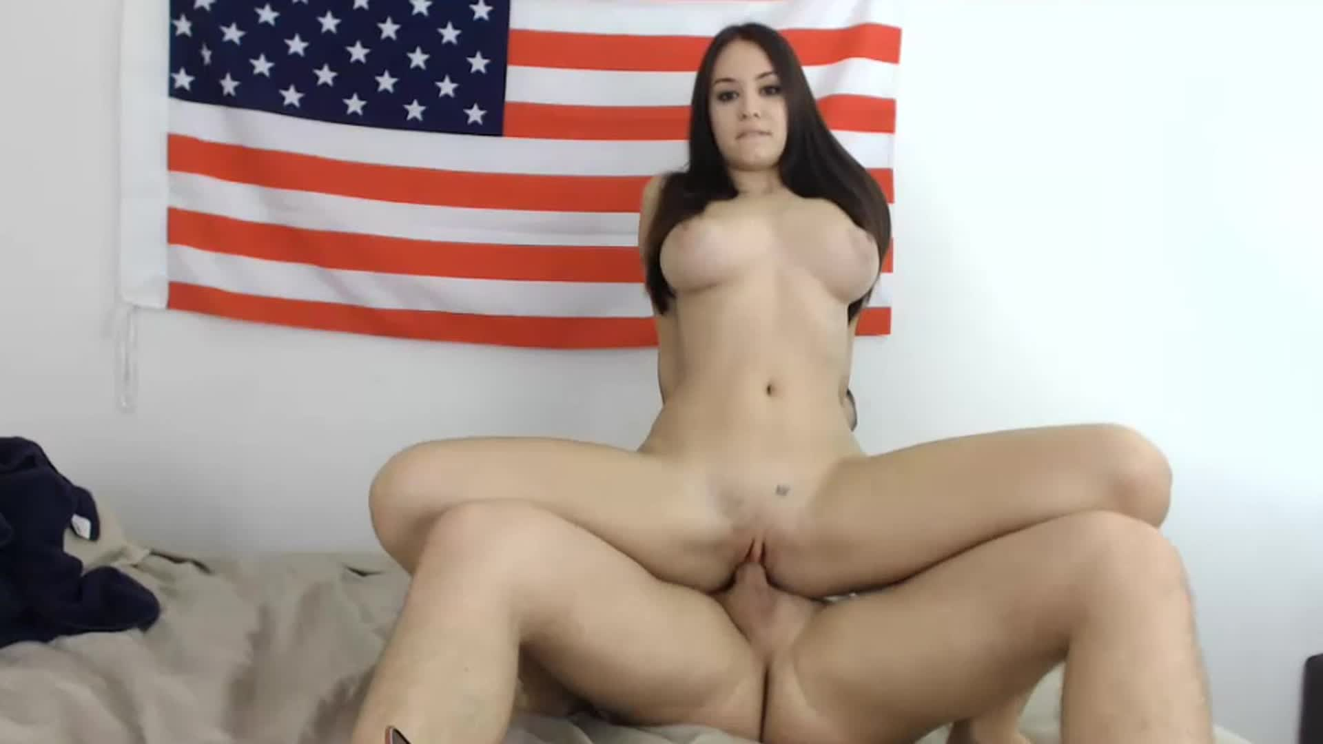 College Girl Riding Cock