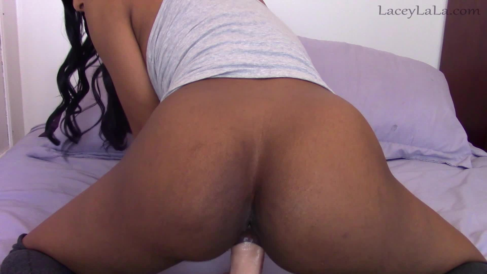 Ebony Amateur Closeup Creampie
