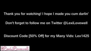 Lexi Lovewell'd vid