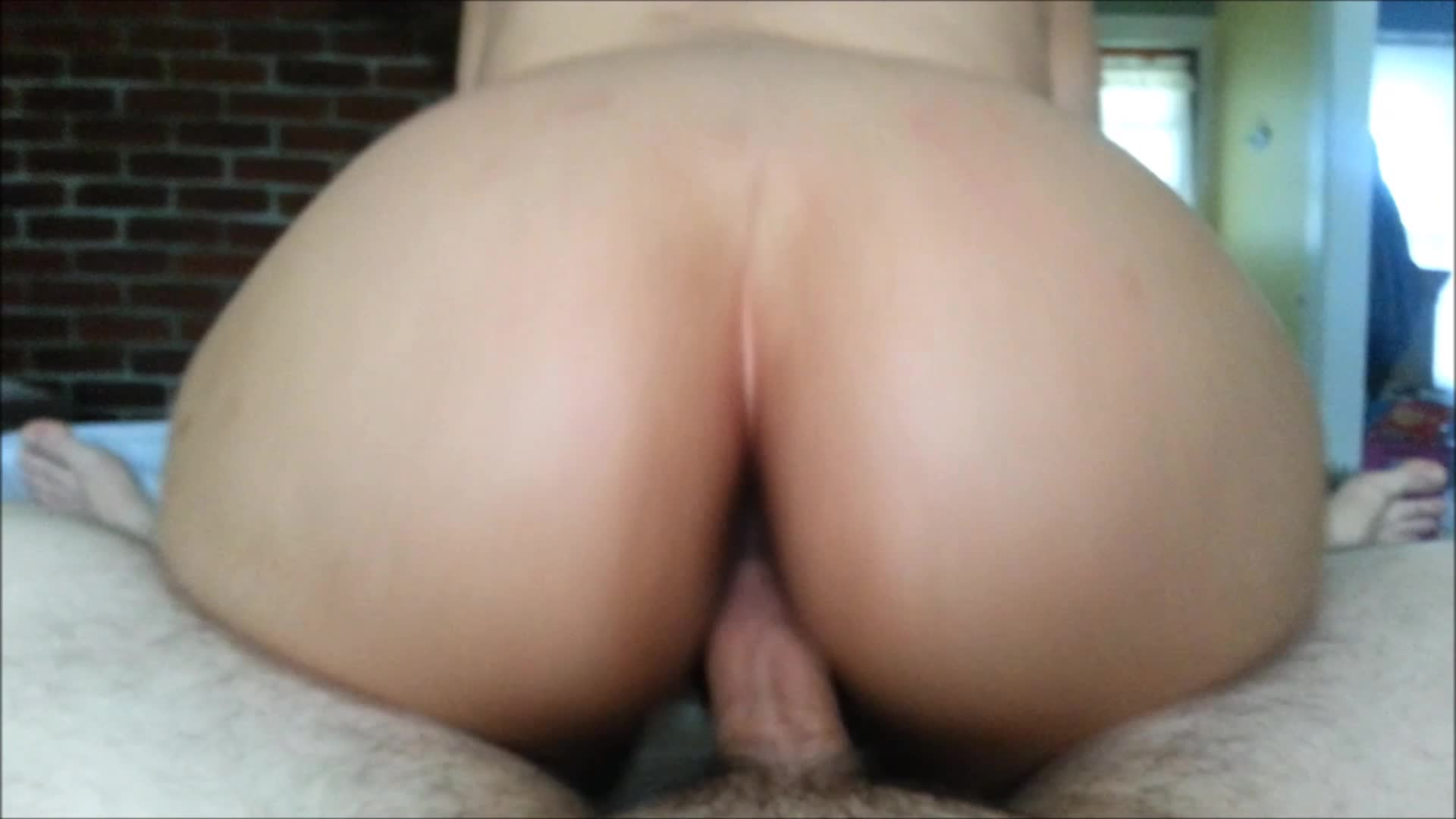 Latina Rides Reverse Cowgirl