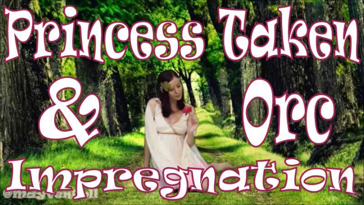 """""""MayvenDoll"""" (Aliens & Monsters, Cosplay, Impregnation Fantasy, Pregnant, Halloween) Princess Taken and Orc Impregnation - ManyVids Production"""