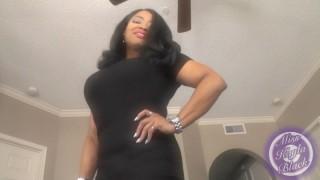 Miss Kayla Black'd vid