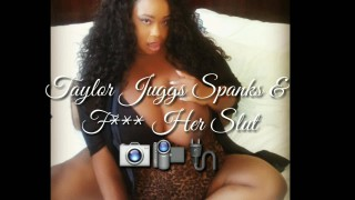 Miss Taylor Juggs'd vid