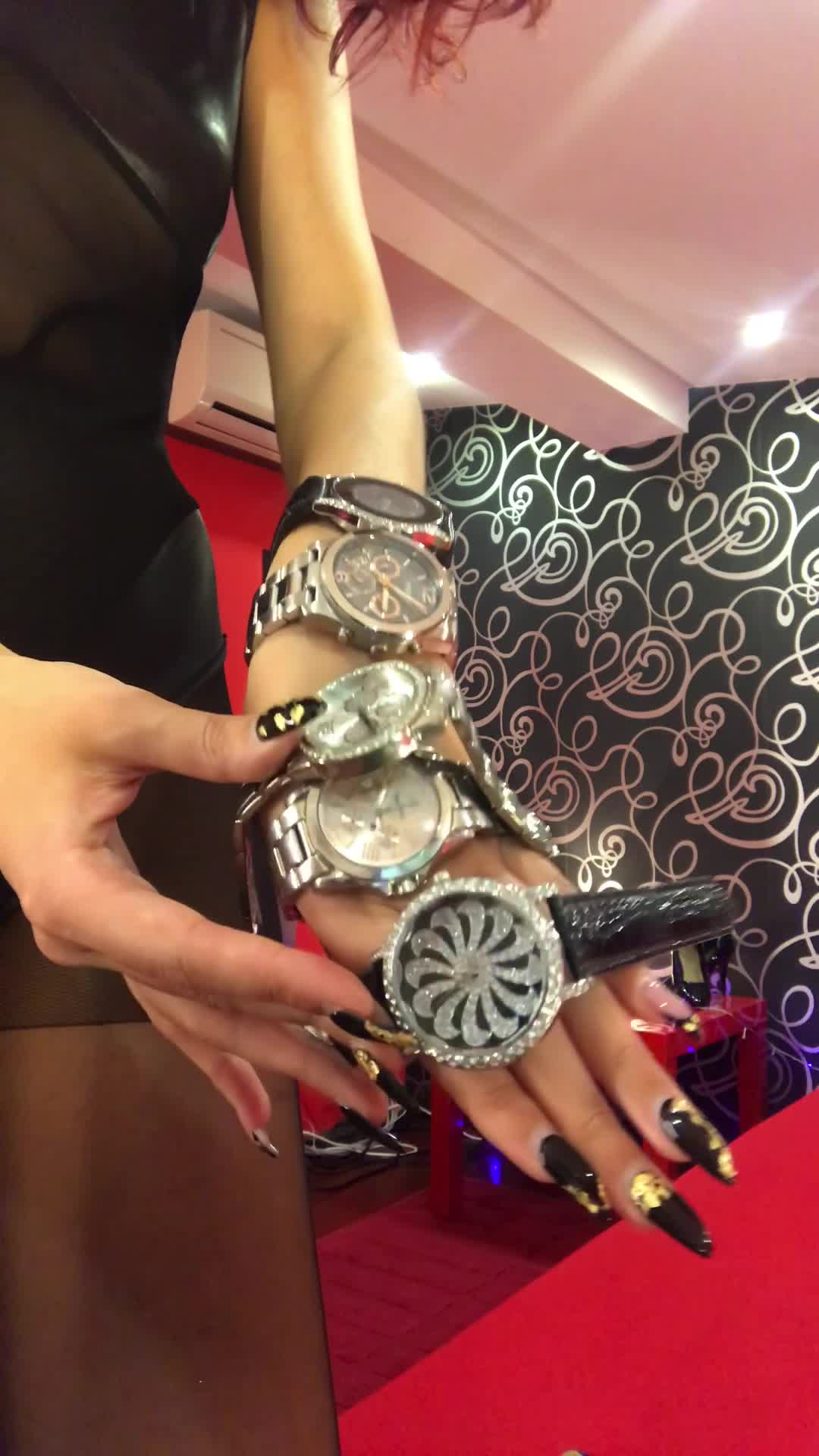 """MistressHelen"" (Goddess Worship, Hand Worship, Nails, Wrist Jobs, Wrist Watch Fetish) All my favourite wrist watches - ManyVids Production"