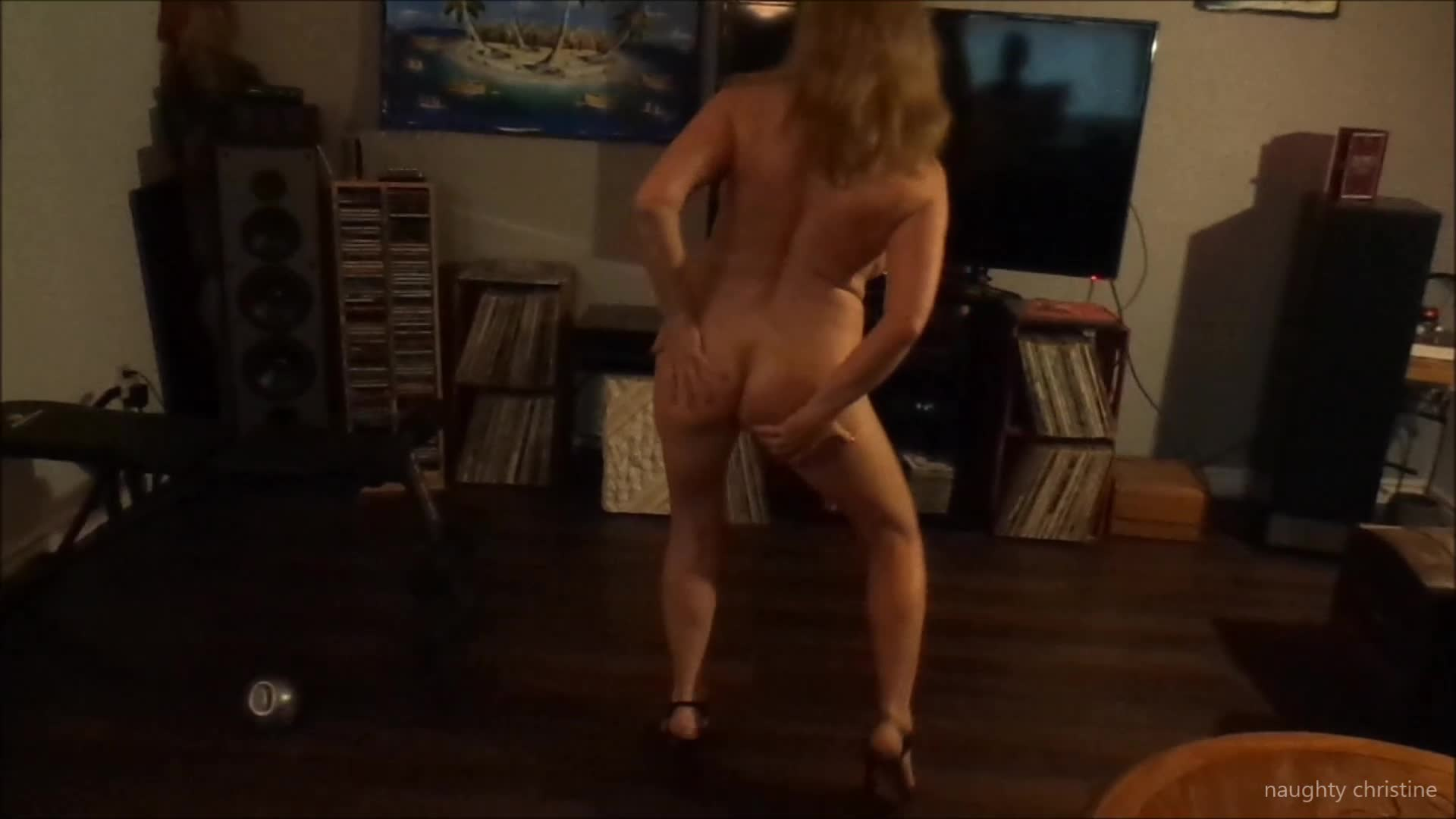 Naughty Christine'd vid