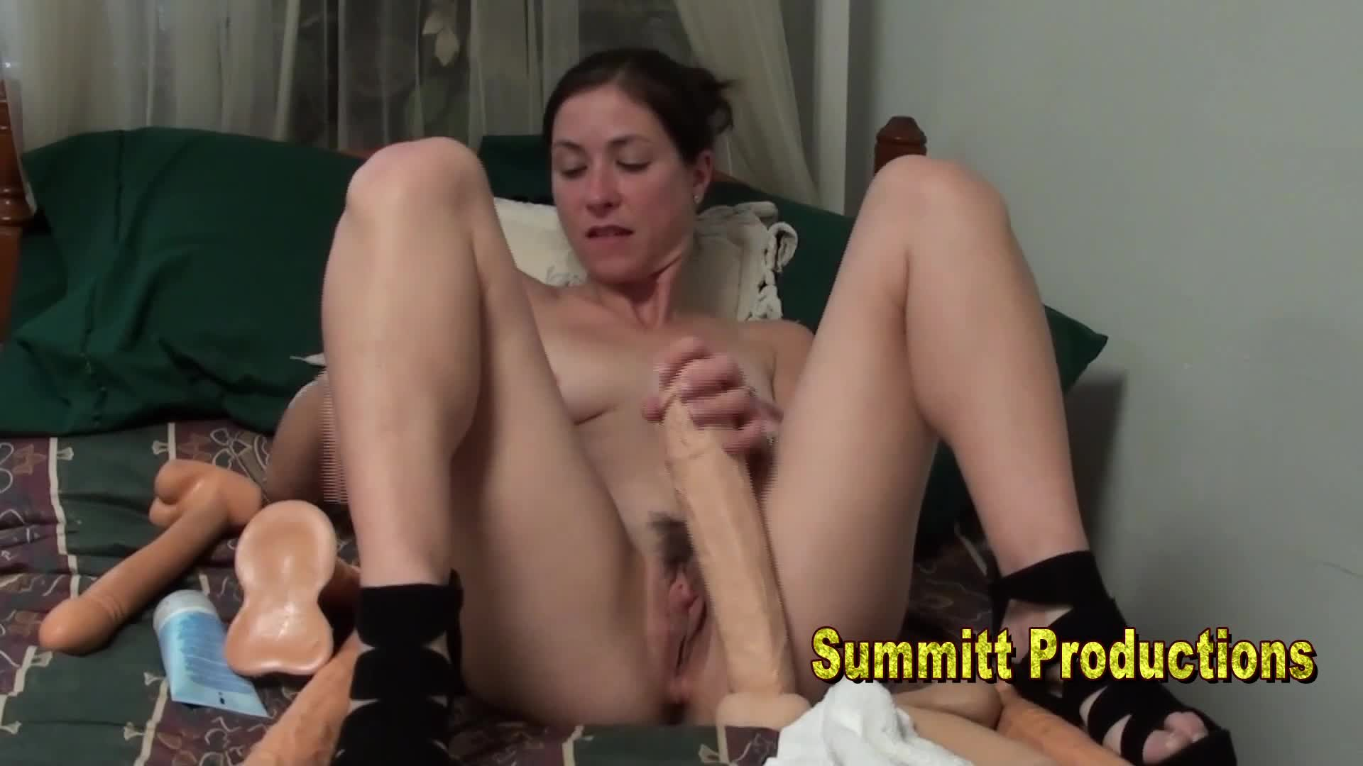 Niarose & Her Big Cocks & Facial # 4