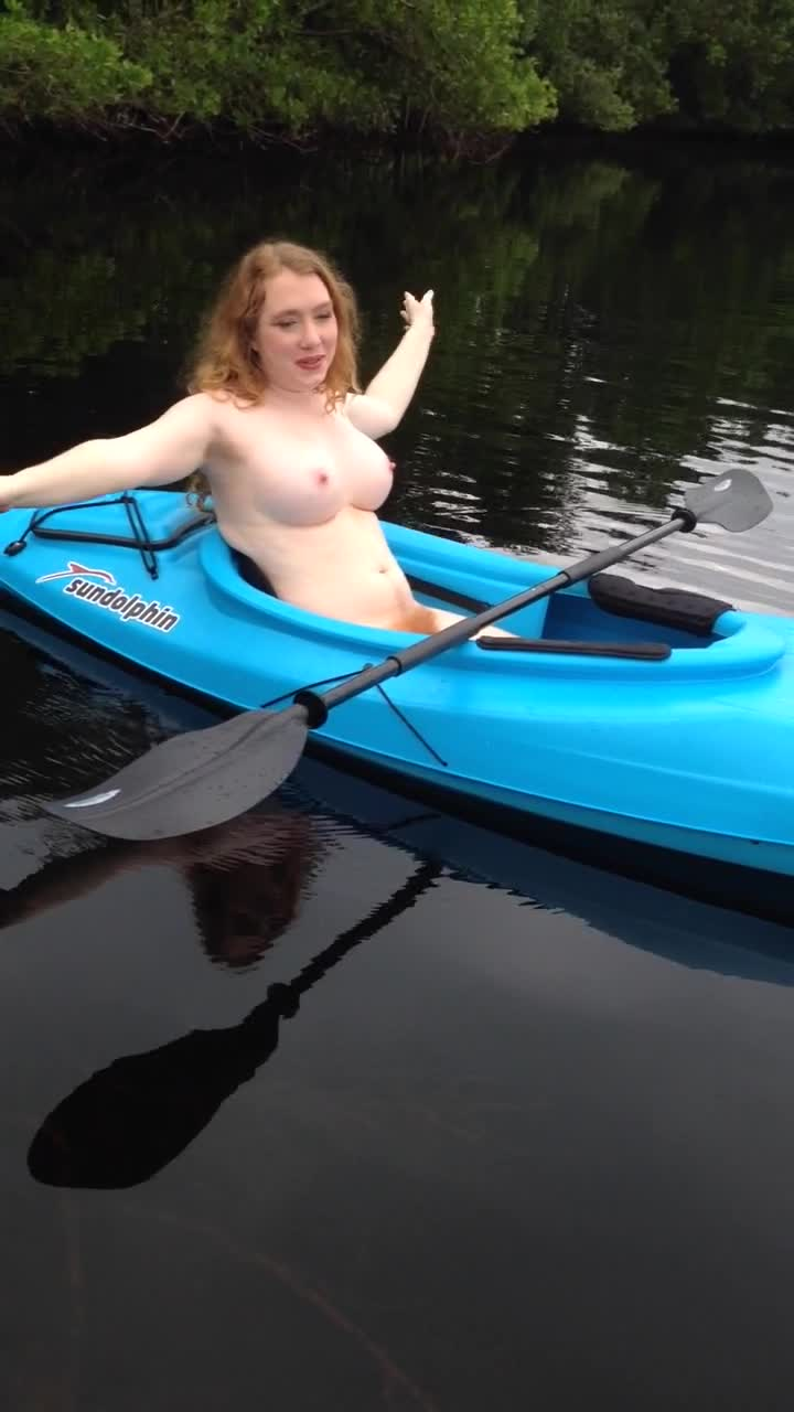 fucking on a kayak
