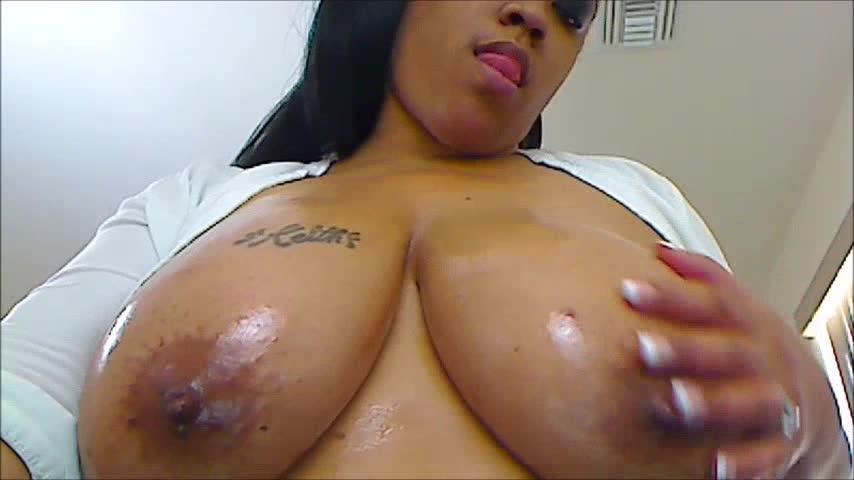 """Nikki Lane"" (All Natural, Big Tits, Ebony MILF, MILFs, Taboo) Mommy's Big Tit Lover - ManyVids Production"