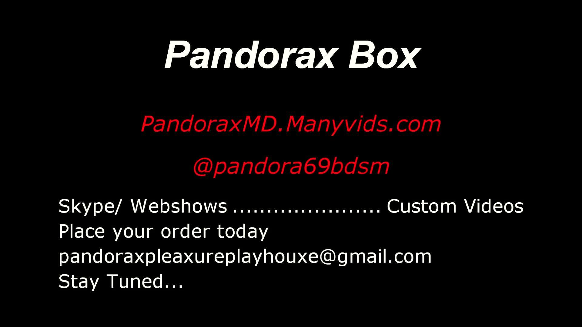 PandoraxBoxMD'd vid