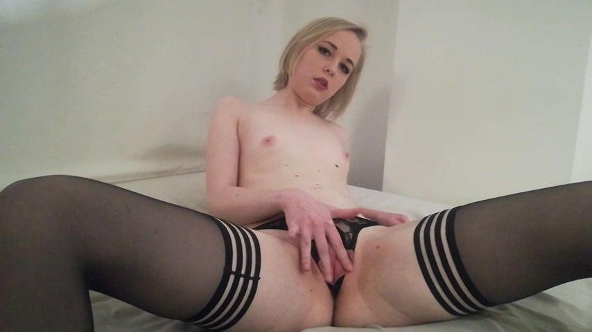 Slow Female Solo Masturbation