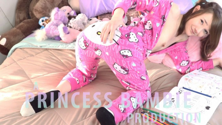 """PrincessBambie"" (POV, Creampie, Impregnation Fantasy, Daddy Roleplay) Daddy Please Cum in My Pussy POV - ManyVids Production"