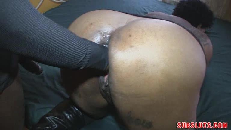Creamy Ebony Threesome Bbc