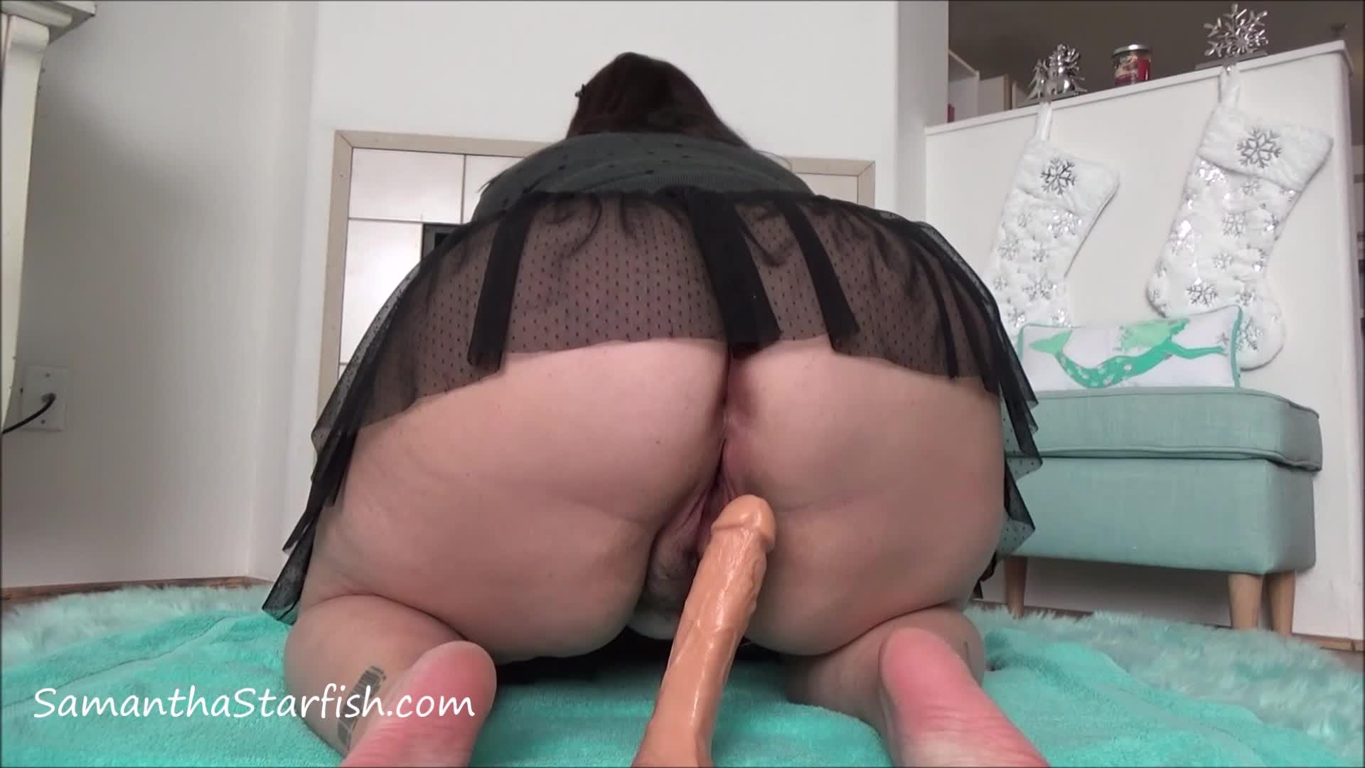 Amateur Ebony Big Butt Anal