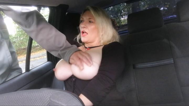 Car Handjob Amateur Boobs