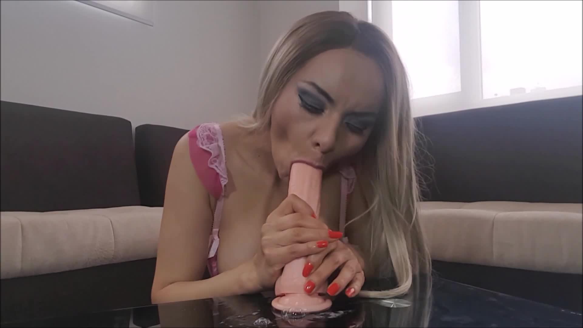 Cosplay Huge Tits Blowjob