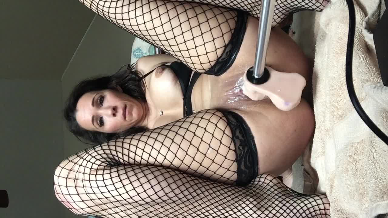 Bicycle fuck machine wife