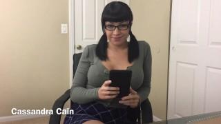 Cassandra Cain'd vid