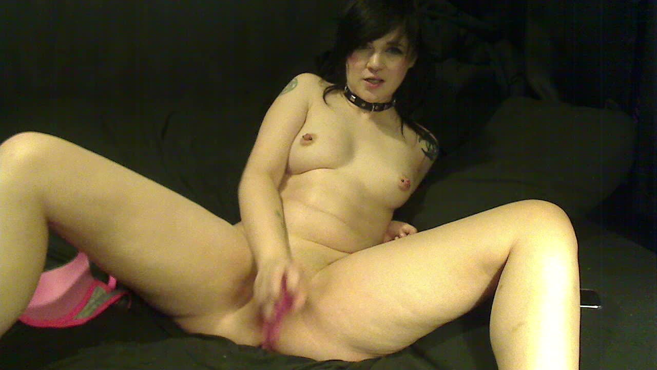 Solo Female Black Dildo