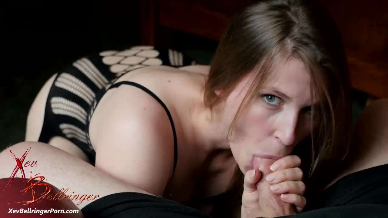 """""""Xev Bellringer"""" (Blow Jobs, Oral Sex, Oral Fixation, Bodystockings, Facials) Xev Lives For Cock - ManyVids Production"""