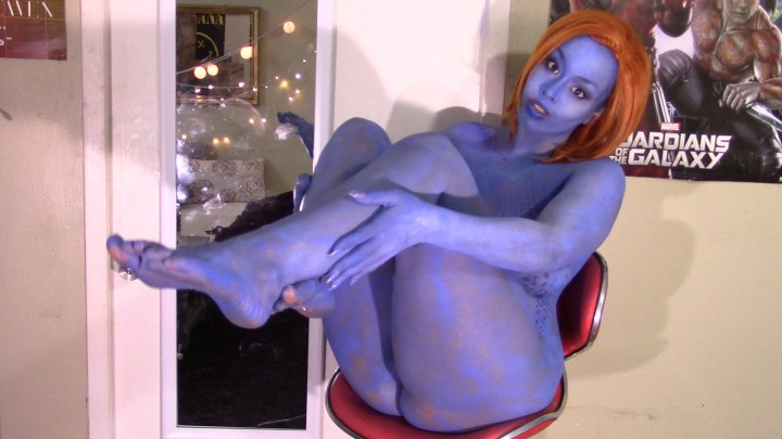 Opinion body paint nude mystique cosplay join told