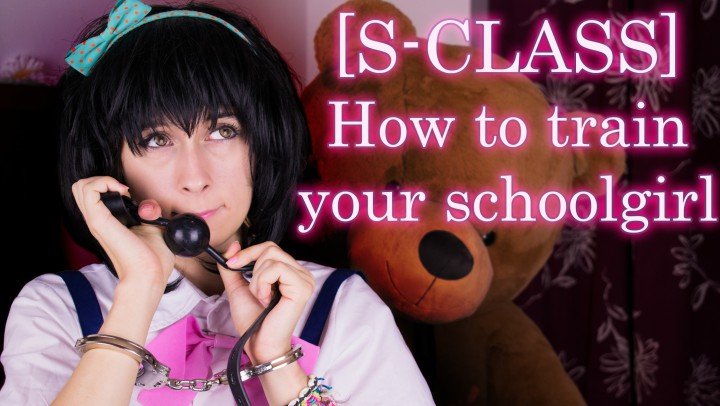 """""""pitykitty"""" (Bondage, POV, Role Play, School Girl, Slave training) [S-CLASS] How to train your schoolgirl - ManyVids Production"""